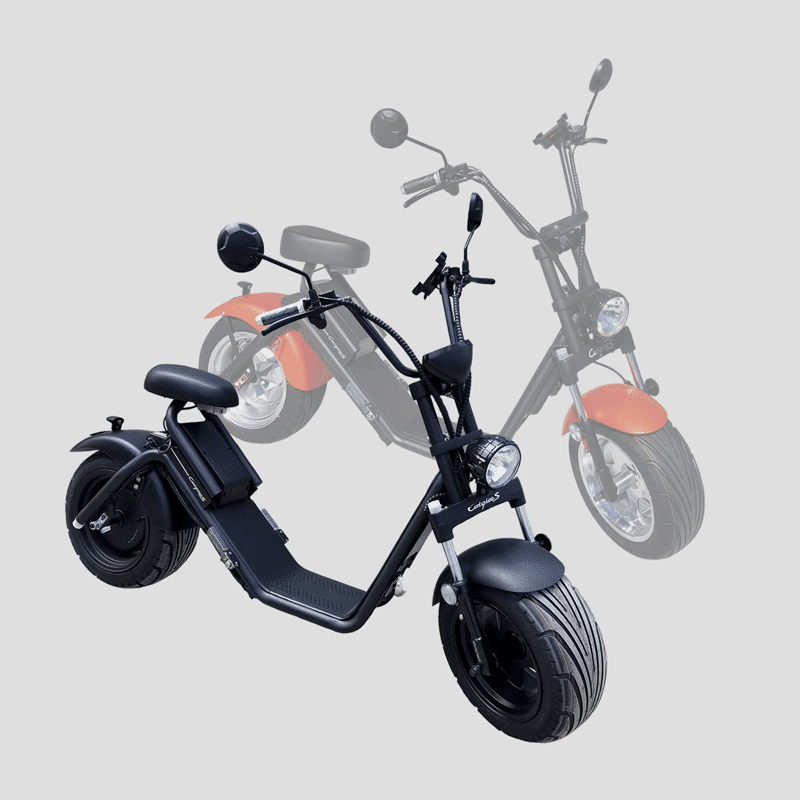 Scooters Caigiees